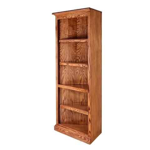 Mission Oak Corner Bookcase 27 x 27 from Corner 60H
