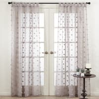 Pom Pom Window Curtains