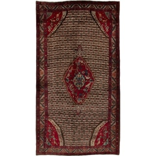 eCarpetGallery  Hand-knotted Koliai Brown Wool Rug - 5'2 x 9'9