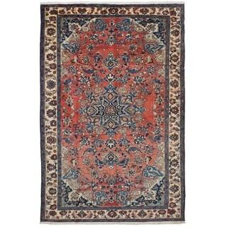 eCarpetGallery  Hand-knotted Bakhtiar Copper Wool Rug - 6'10 x 10'8