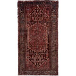 eCarpetGallery  Hand-knotted Touserkan Dark Copper Wool Rug - 5'4 x 9'9