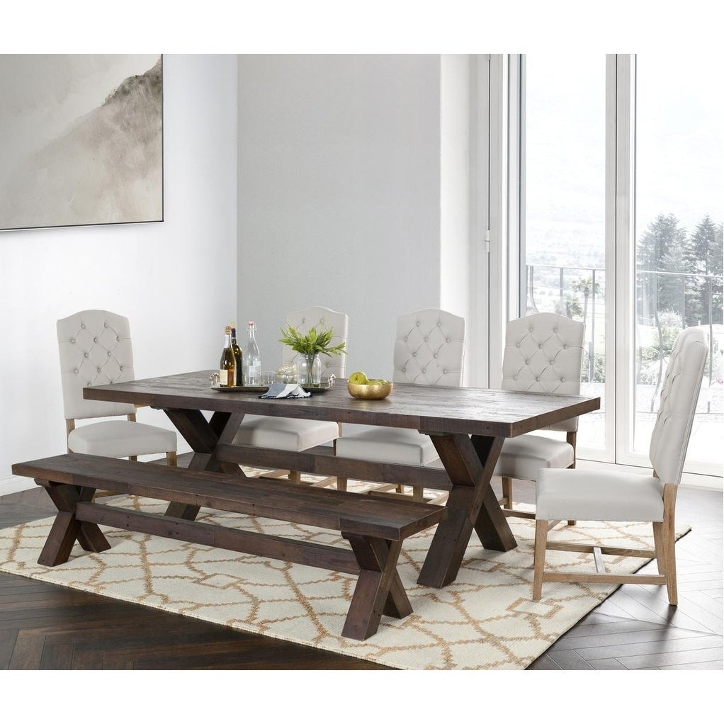 Carbon Loft Guerrero Reclaimed Pine Dining Table