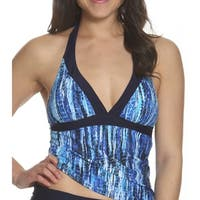 Sun and Sea Missy Halter Tankini Top