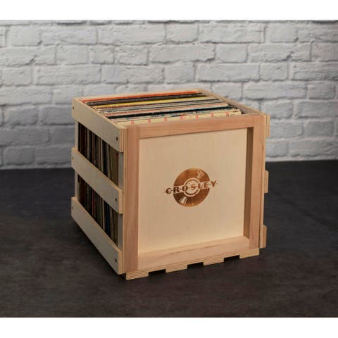 Stackable Record Storage Crate