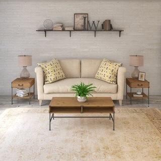 Ironworks Living Room Table Set from kathy ireland Home by Bush Furniture
