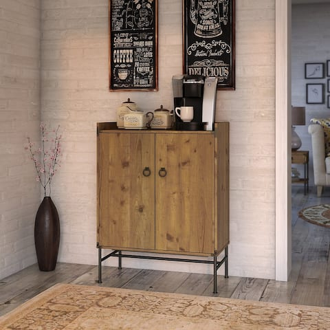 Ironworks Storage Cabinet from kathy ireland Home by Bush Furniture