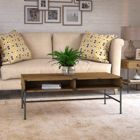 Ironworks Coffee Table from kathy ireland Home by Bush Furniture