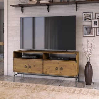 Ironworks 60W TV Stand from kathy ireland Home by Bush Furniture