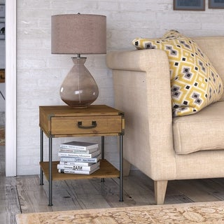 Ironworks Set of 2 End Tables from kathy ireland Home by Bush Furniture