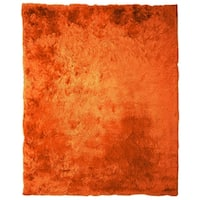 Soft Fluffy Thick Solid Non-Skid Shaggy Shag Pile Area Rug Carpet