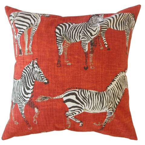 Porch & Den Dorado Animal Print Throw Pillow