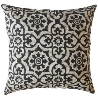 Parmida Damask Throw Pillow Matte