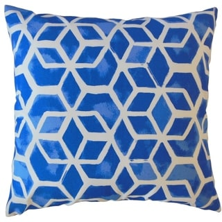 Zareh Geometric Throw Pillow Admiral