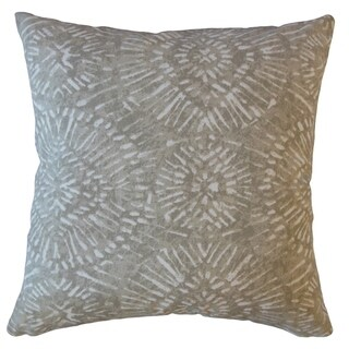 Umed Ikat Throw Pillow Basket