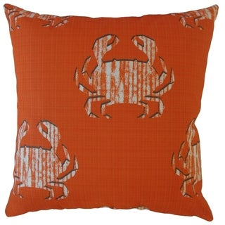 Rais Coastal Throw Pillow Marmalade