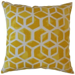 Zareh Geometric Throw Pillow Pineapple