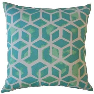 Zareh Geometric Throw Pillow Surfside