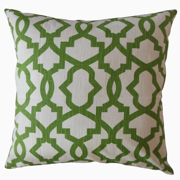 Callahan Geometric Throw Pillow Parrot