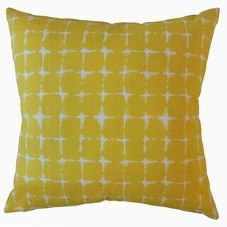 Uzima Geometric Throw Pillow Pineapple