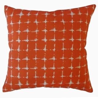 Uzumi Geometric Throw Pillow Marmalade