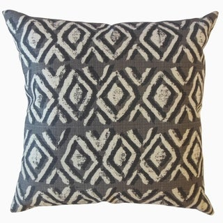Barbod Ikat Throw Pillow Basket