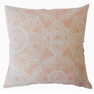 Nakia Graphic Throw Pillow Sundown