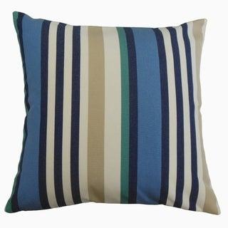 Tamber Striped Throw Pillow Seaport
