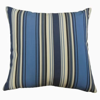 Phomello Striped Throw Pillow Nautical