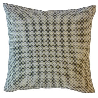Feleti Geometric Throw Pillow Grass