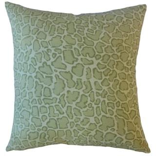 Urit Animal Print Throw Pillow Basil