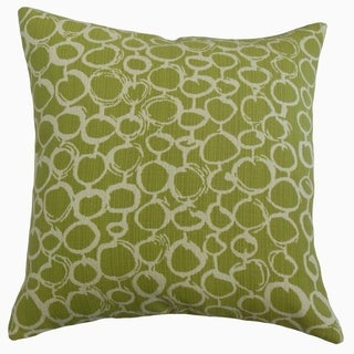 Velisa Geometric Throw Pillow Artichoke