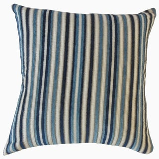 Porch & Den Donin Striped Throw Pillow