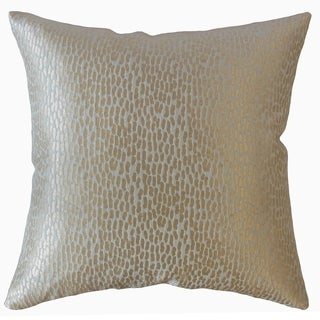 Caius Solid Throw Pillow Marble