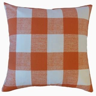 Jaspen Plaid Throw Pillow Monarch