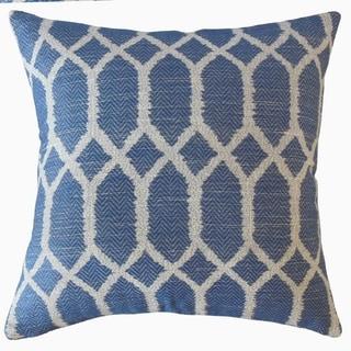 Qadr Geometric Throw Pillow Royal