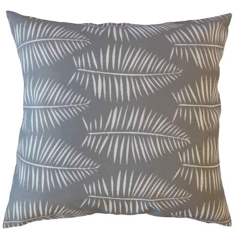Xuan Graphic Throw Pillow Seasalt