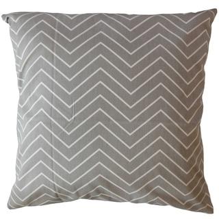 Adelphie Zigzag Throw Pillow Storm