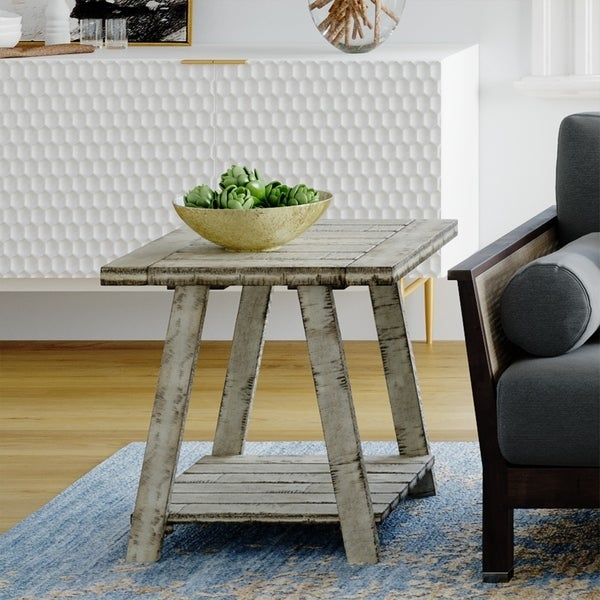 Carbon Loft Winnarda Urban Rustic End Table