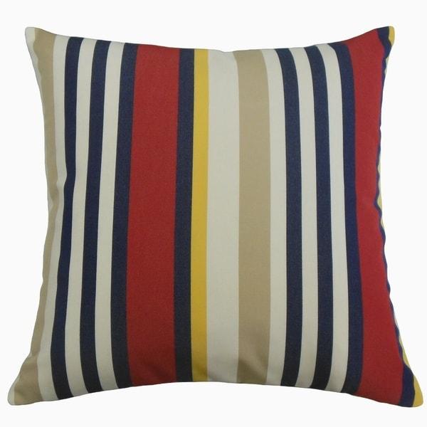 Tamber Striped Throw Pillow Sailor
