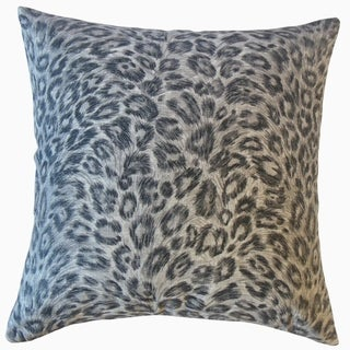Dembe Animal Print Throw Pillow Gunmetal