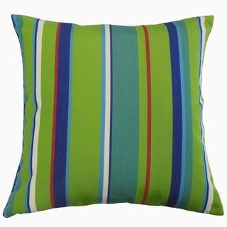 Xanto Striped Throw Pillow Spring
