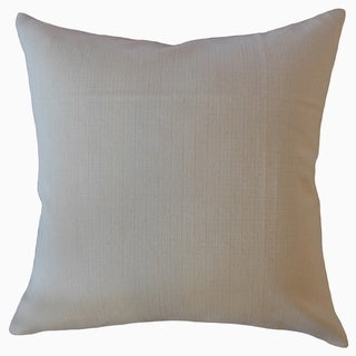 Laraib Solid Throw Pillow Natural