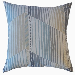 Parkin Stripes Throw Pillow Seaside