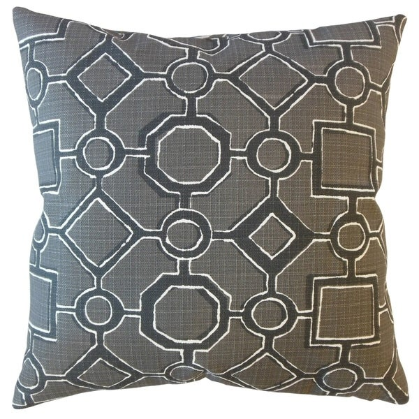 Wenda Geometric Throw Pillow Matte
