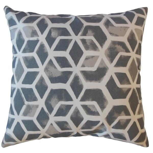 Zareh Geometric Throw Pillow Seasalt
