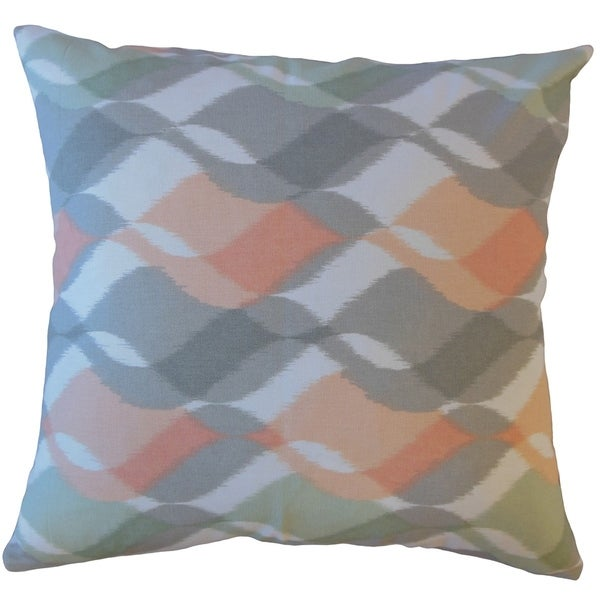 Porch & Den Culbertson Waving Graphic Throw Pillow