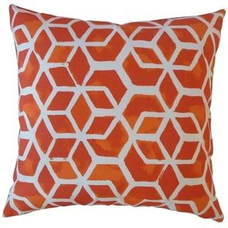 Zareh Geometric Throw Pillow Marmalade