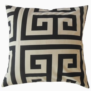 Oliana Geometric Throw Pillow Onyx