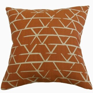 Umatilla Geometric Throw Pillow Spice