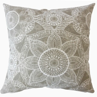 Nakia Graphic Throw Pillow Driftwood